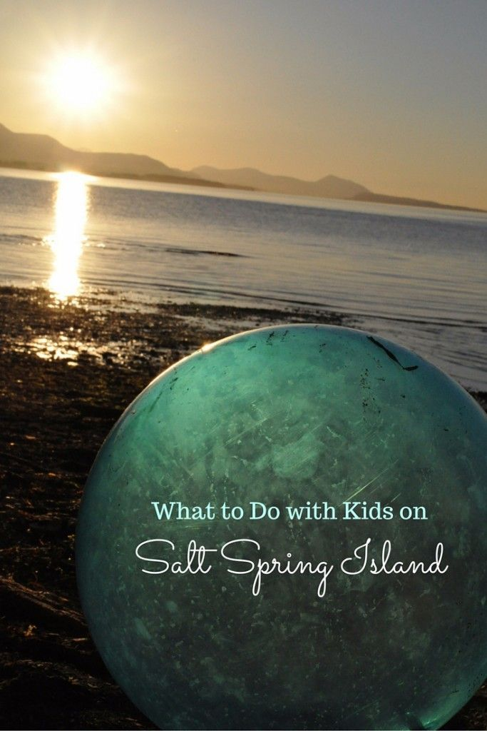 Fun Things to Do on Salt Spring Island with Kids