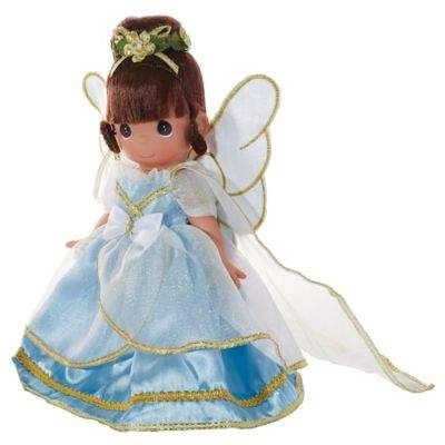 Precious Moments® The Doll Maker 9-Inch Angel From Above Doll with Brunette Hair