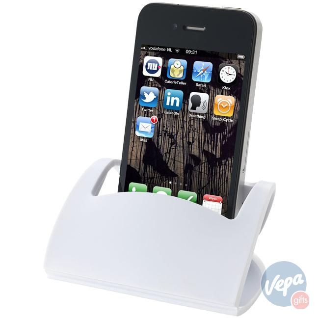 Bullet Corax opvouwbare mobiele telefoonhouder Wit