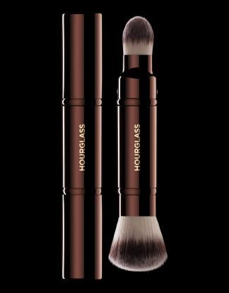 Retractable Double-Ended Complexion Brush | Best Double-Ended Retractable Makeup Brush
