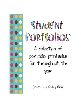 Student Portfolios: 89 pgs. for elementary ($6.99) ...great idea to encourage meaningful reflection and buld metacognitive skills (maybe try to adapt another version for 6th-8th)