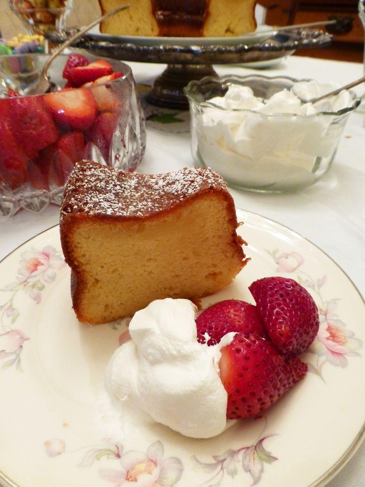 Marge's Lemon Cake