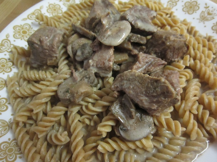 Beef Stroganoff Seasoning Mix for the slow cooker.
