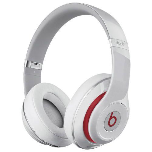 Beats by Dr. Dre - Beats Studio Over-Ear Noise Cancelling Headphones - White