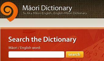 maori dictionary - Google Search