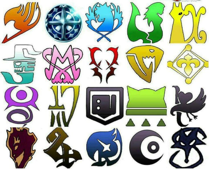 Fairy tail logos anime manga - Embleme de fairy tail ...
