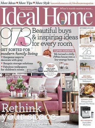 Ideal home september 2014 uk