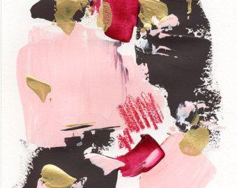 Pittura astratta originale paesaggio astratto di artbyoak1 su Etsy