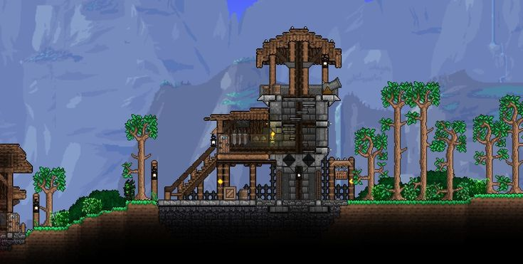 how to build stairs in terraria