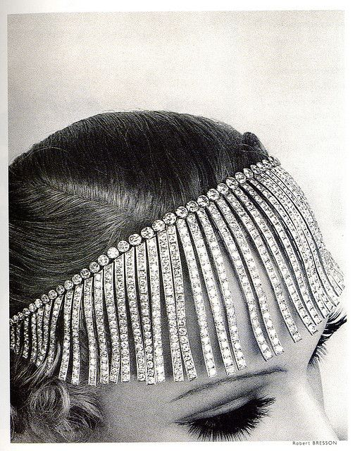 1932-1933 Chanel Fringed Tiara from The Shooting Stars Collection.