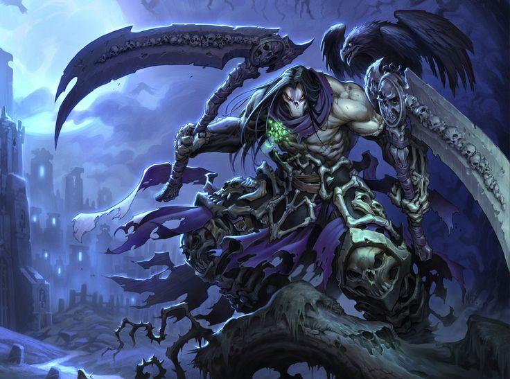 Death, The Pale Rider, Kinslayer, Executioner, Azrael ...