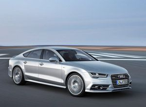 2015 Audi A7 Sportback is restyled four door coupe from German manufacturer