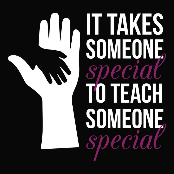 Special Education Someone Special With Images Special