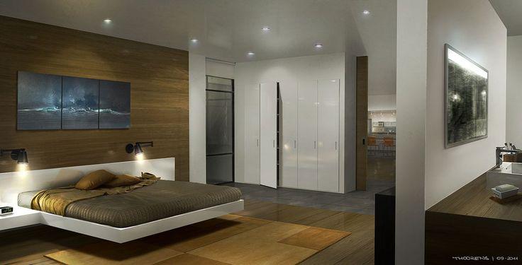 Beyond...Two Souls (Quantic Dream) Bedroom by djahal.deviantart.com on @deviantART