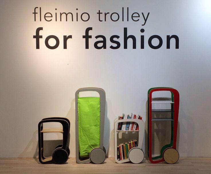 fleimio bag trolley in Stockholm Furniture Fair 2017