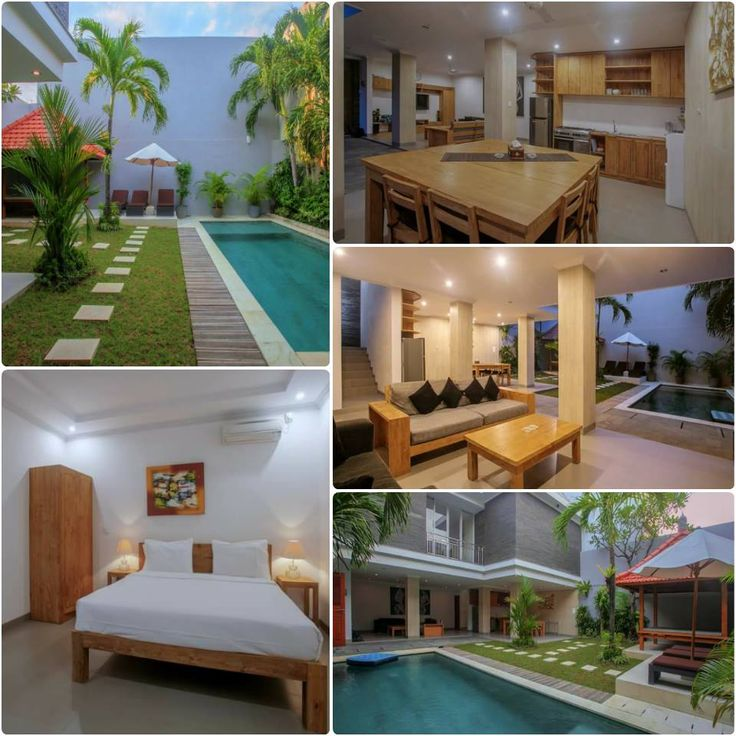 An adorable 4 bedrooms Villa DIKA in the heart of SEMINYAK – Private pool, First day breakfast – IDR 3.800.000 includes 8 pp - https://www.balivillahavens.com/villa-dika---4-bed.html