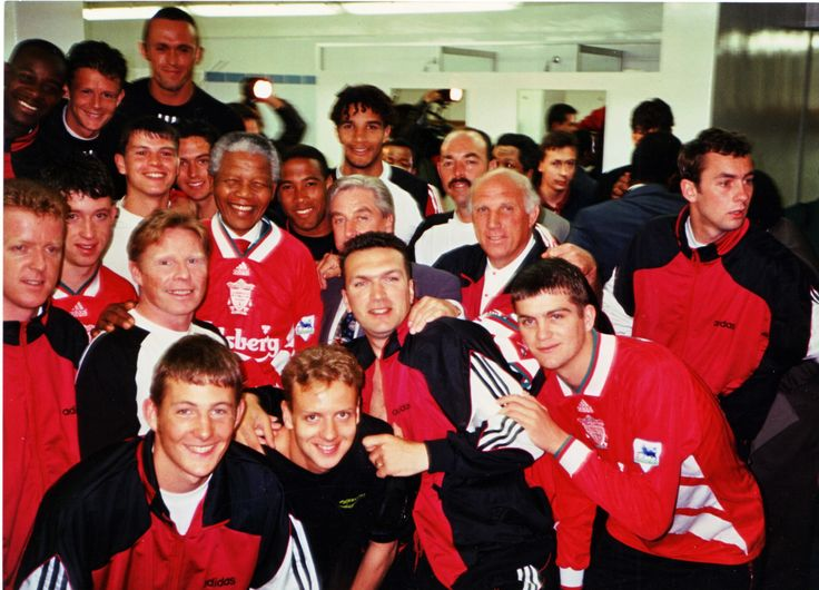 Nelson Mandela shows his true colours in 1994