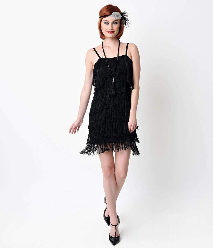Flapper Dresses for Plus Size | Little Black Book