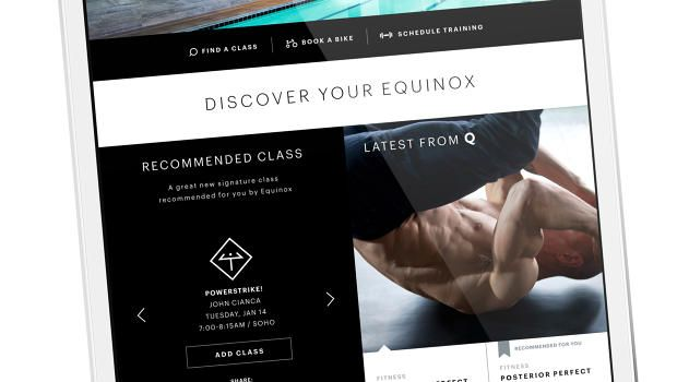With New App, Equinox Begins To Expand Beyond Physical Locations