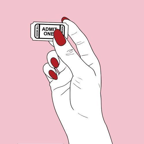 Imagen de pink and grunge