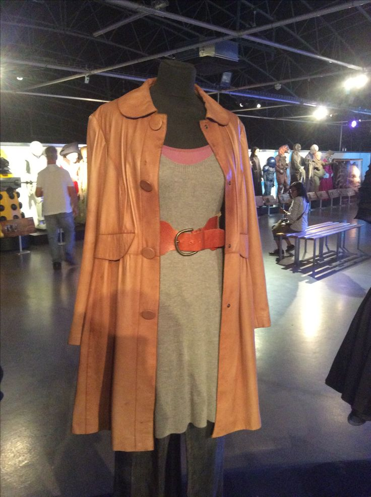Donna Noble costume at the Doctor Who Experience