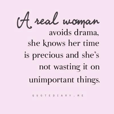 a real woman ...