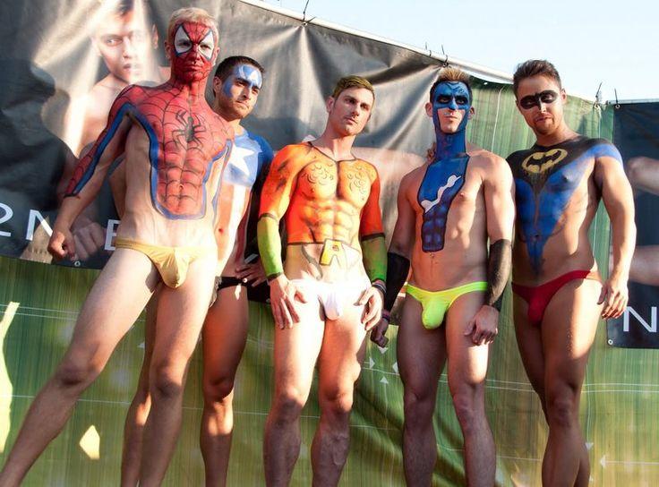 Shall Sexy nude superhero costumes have