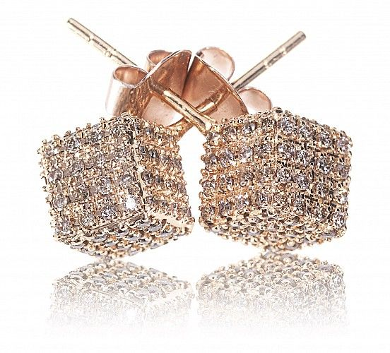18K Rose Gold Champagne Diamonds - Just exquisite!