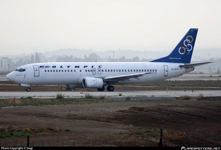 SX-BKD Olympic Airways Boeing 737-484