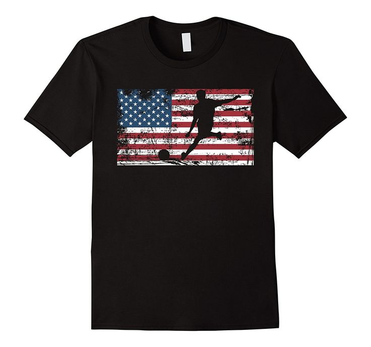 Soccer American Flag T-Shirt, only $19.99