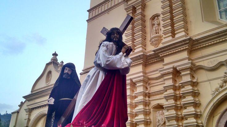 Vía Crucis, viernes de dolores, Tegucigalpa 2017