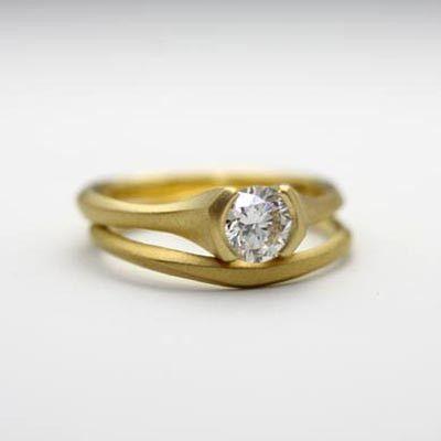 Carved ring set