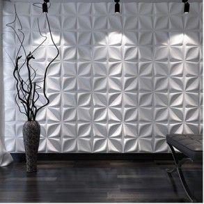 Διακόσμηση τοίχου Flower 3D πάνελ