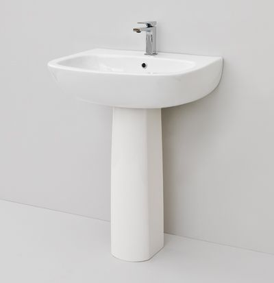 Ten, design Meneghello Paolelli Associati #bathroom #bagno #sanitaryware #sanitari #design #sink #artceram wall-hung/for column washbasin 65x52
