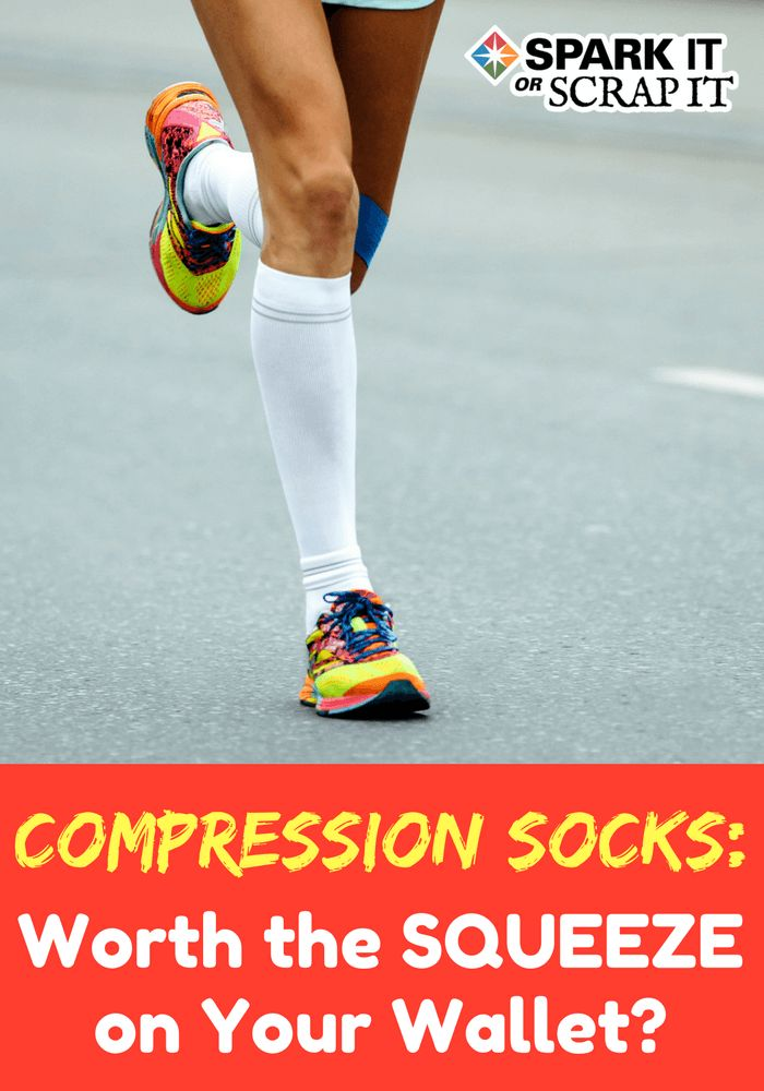 Are compression socks and sleeves worth the squeeze on your wallet and do you really need them when you workout?