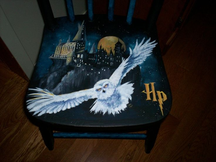 Harry Potter Table And Chairs Painted This Chair For Our