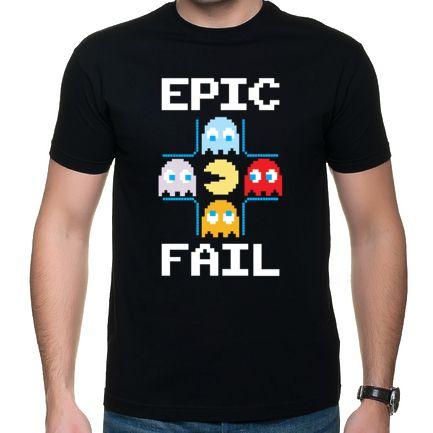 Czarna koszulka Epic Fail http://hiw.pl/koszulka-epic-fail/