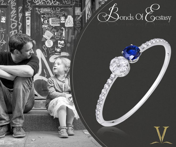 Varuna D Jani has very well construed the invaluable bond between a father & his daughter by designing graceful bracelets that would always encompass your wrist whenever you wished your father held your hand.