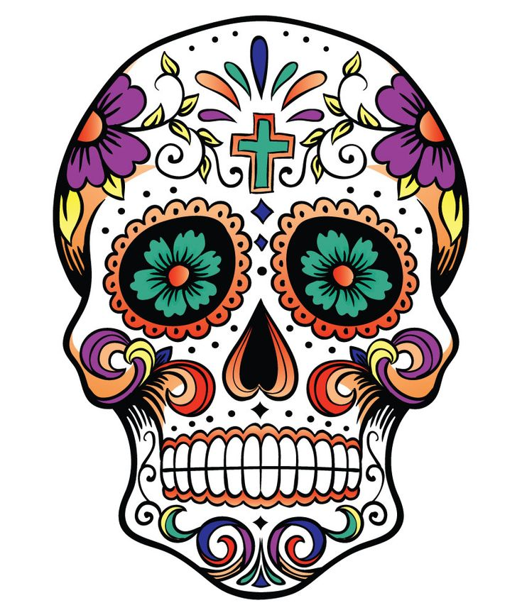Printable craft: day dead skull - learncreatelove, Day of the dead, or día de muertos, is a mexican holiday that is celebrated on november 1st and 2nd. Description from design.newtattoo.net. I searched for this on bing.com/images