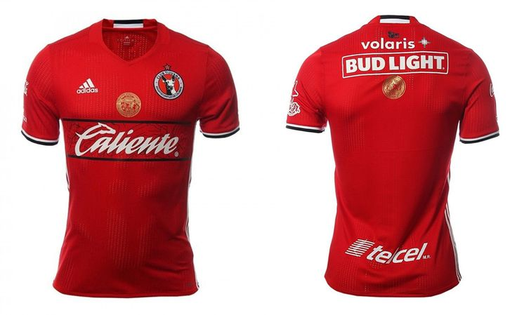 Camisas do Club Tijuana 2016-2017 Adidas Titular