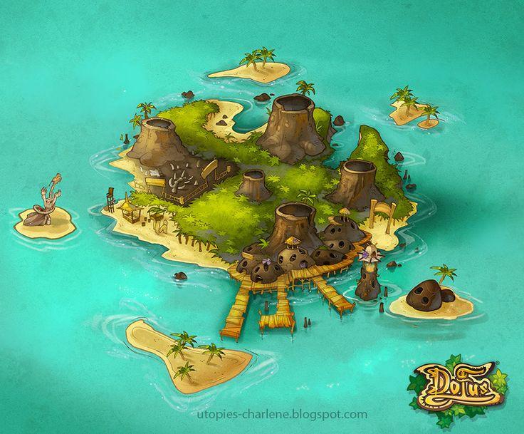 Vulkania island by Catell-Ruz.deviantart.com on @deviantART