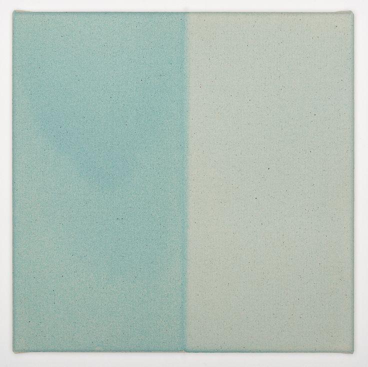 Simon Morris, Half Light Blue, 2015