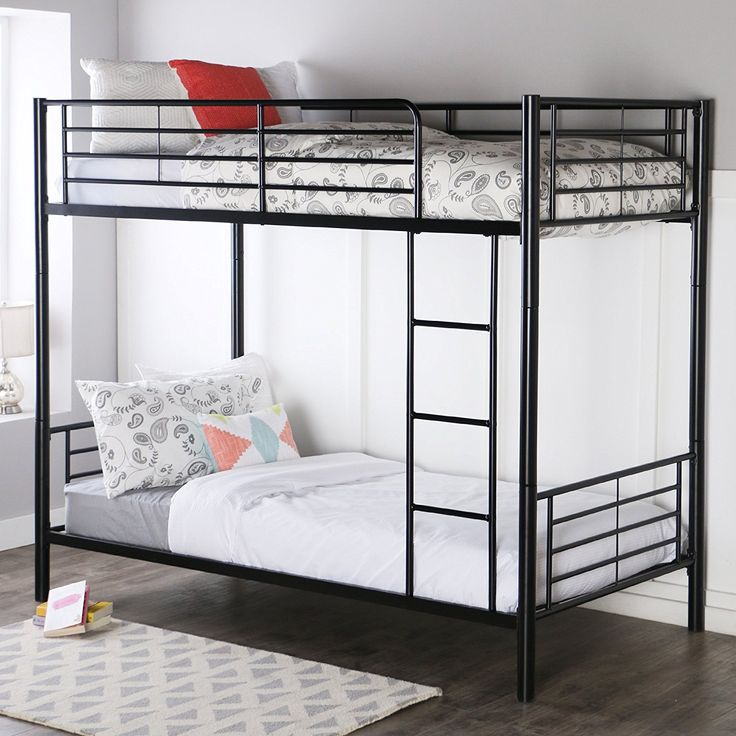 Youre Not That Into Wooden Bunk Beds And You Prefer White Metal