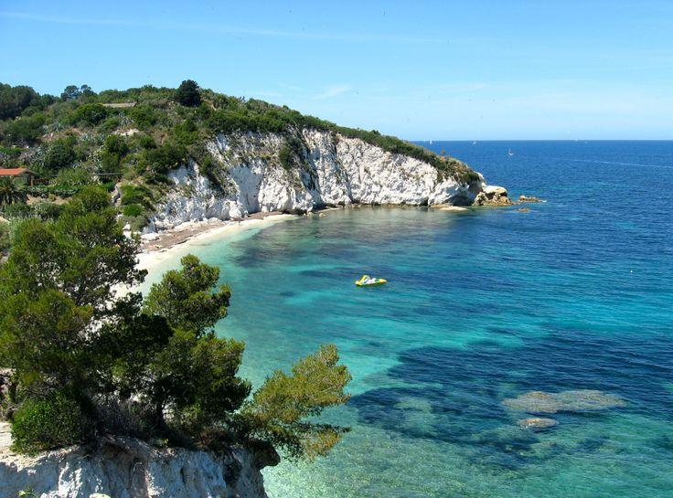 Beautiful Beach in Elba, Italy