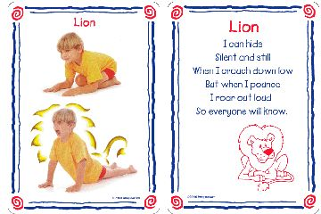 yoga poses for kids | ... cards from the Yoga Kit for Kids pack. Front and back of cards shown