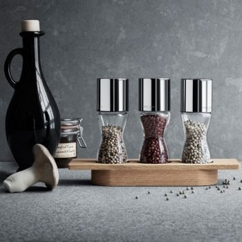 Alfredo herb grinders by Georg Jensen.