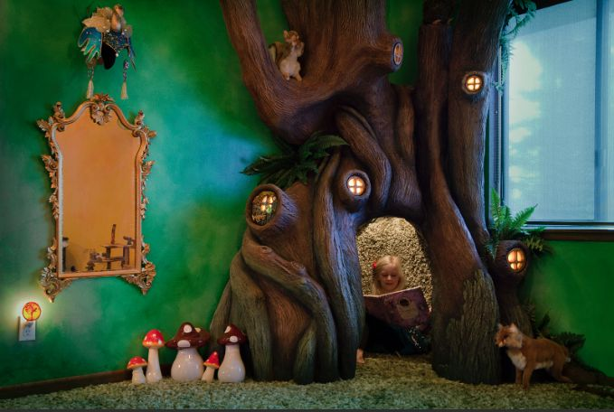 Ein Baum im Kinderzimmer - Respekt!
