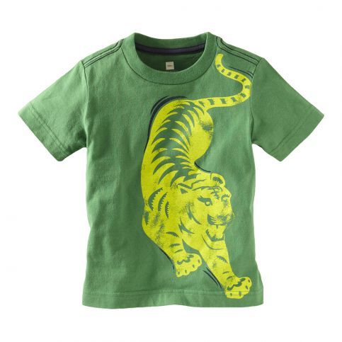 Dress your little tiger in a tee that he's sure to love. #TeaSummer