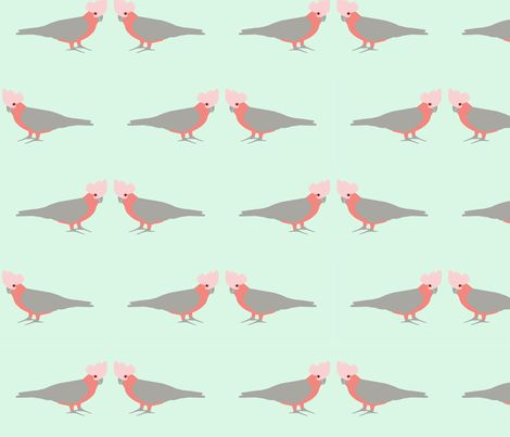 Galah fabric by susie-lotta_designs on Spoonflower - custom fabric