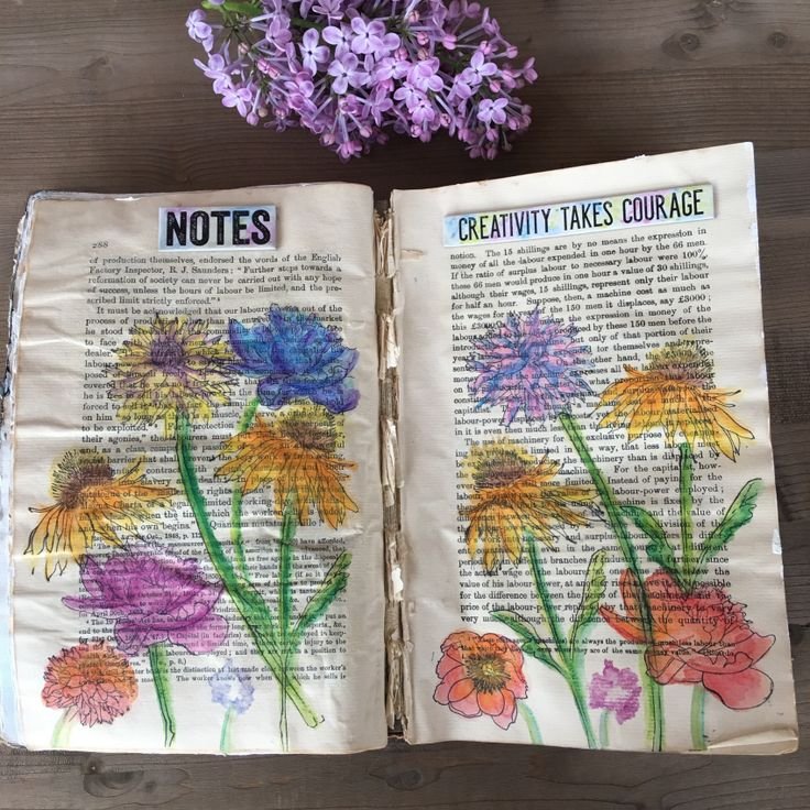 Art Journaling with Stabilo and Nicole Wright